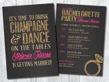Bachelorette Party Invites Online Bachelorette Invitation Bachelorette Party by Sweetbeeshoppe