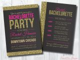 Bachlorette Party Invitations Bachelorette Invite Bachelorette Party Invite by