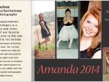 Back Of Graduation Invitation Graduation Announcements Alling Photography