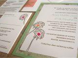 Back Pocket Wedding Invitations Custom Wedding Invitation Pocket On the Back Papercake