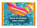 Back to School Pool Party Invitation 11 Best Back to School Pools Images On Pinterest Back