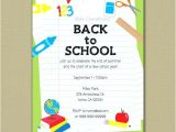 Back to School Pool Party Invitation Back to School Pool Party Invitation Heritagetrails Info