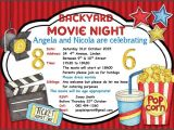 Backyard Movie Party Invitation 90 Best Images About Invitations On Pinterest Rehearsal