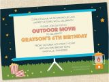 Backyard Movie Party Invitation Outdoor Movie Night Invitation Wording Outdoor Furniture