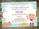 Baking Birthday Party Invitations Free Print Birthday Invitations for Free Free Invitation