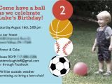 Ball themed Birthday Party Invitations Let 39 S Have A Ball Ball themed Birthday Party Pick Any Two