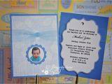 Baptism and Birthday Invitation Sample Baptism and First Birthday Invitations