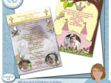 Baptism and Birthday Party together Invitation Kb Custom Creations Christening and Birthday Party