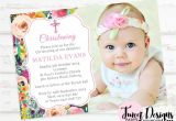 Baptism Invitation Ideas for Baby Girl Baptism Invitation Christening Invitation for Baby Girl