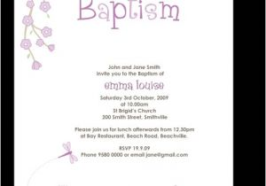 Baptism Invitation Sample Wording 7 Best Of Baptism Sayings for Cards Christening