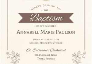 Baptism Invitation Sample Wording Catholic Baptism Invitation Wording Twins formal Lds