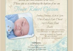 Baptism Invitation Sample Wording soft Christening or Holy Baptism Invitation event Wording