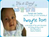 Baptism Invitation Wordings Philippines Invitation for Christening In the Philippines Image
