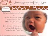 Baptism Invitation Wordings Philippines Invitations for Baptism Invitations for Baptism and 1st