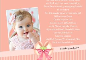 Baptism Invitation Wordings Sample Baptism Invitation Wording Samples Wordings and Messages