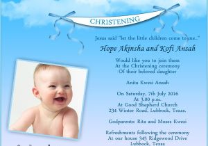 Baptism Invitation Wordings Sample Christening Invitation Wording Samples Wordings and Messages