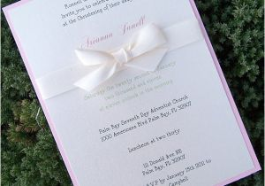 Baptism Invitations Etsy Baptism Invitation Child Birthday Party by theextradetail