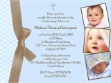 Baptism Invitations for A Boy Baby Baptism Invitations – Gangcraft