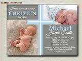 Baptism Invitations for A Boy Baptism Invitations for Boys Baptism Invitations for
