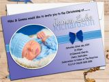 Baptism Invitations for Boy and Girl Baptism Invitation Baptism Invitation for Boys Baptism