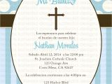 Baptism Invitations for Boy In Spanish Baptism Invitation Baptism Invitations In Spanish New