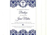 Baptism Invitations for Boy In Spanish Baptism Invitation Templates In Spanish – Meichu2017