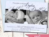 Baptism Invitations for Twins Baptism Invitation Twin Baptism Invitations Baptism