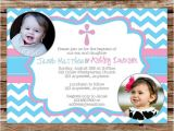 Baptism Invitations for Twins Boy and Girl Baptism Invitation Twin Baptism Invitation Dedication