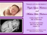 Baptism Invitations for Twins Twins Baptism Invitation Any Color Could by