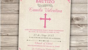 Baptism Invitations In Spanish Free Chandeliers & Pendant Lights