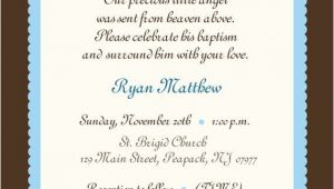 Baptism Invite Wording Baby Christening Quotes and Sayings Quotesgram