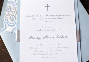 Baptism Invites Canada Baby Boy Baptism Christening First Munion Invitation
