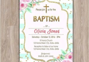 Baptism Invites Canada Invitations for Baptism Line Invitation Sample