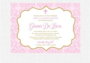 Baptism Invites Canada Printable Baptism Invitation Girl Baptism Invitation Baby