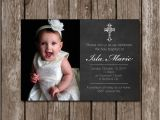 Baptism Invites Walgreens Chalkboard Baptism Invitation with Picture