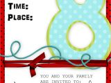 Baptism Preview Invitations Dream It It S Great to Be Eight