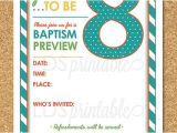 Baptism Preview Invitations Great to Be Eight Baptism Preview Invitation for Primary