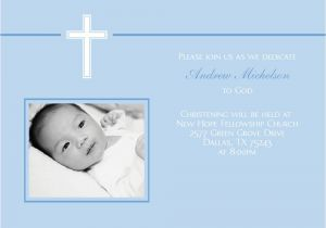 Baptismal Invitation Background Layout Baby Blue with White Cross Baptism by Cardsdirect