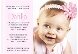 Baptismal Invitation Card Design Invitation Card for Christening Invitation Card for