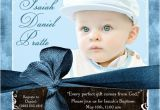 Baptismal Invitation Card Design Modern Boy Baptism Invitation Golden Cross Baby son S