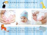 Baptismal Invitation for Baby Girl Philippines Archbishop's Palace Aby Valentos