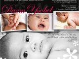 Baptismal Invitation for Baby Girl Philippines Birthday Invitations 1st Birthday Baptism Invitations