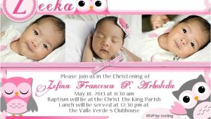 Baptismal Invitation for Baby Girl Philippines Supplier List for Baptism Mommy Ginger