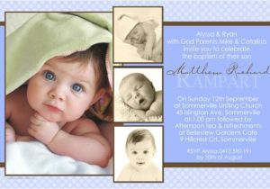 Baptismal Invitation for Boys Baptism Invitations for Boy – Gangcraft