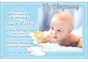 Baptismal Invitation for Boys Free Christening Invitation Template