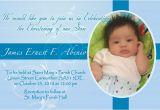 Baptismal Invitation Layout Designs Invitation & Tarp James Ernest Baptismal