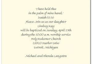 Baptismal Invitation Quotes Baptism Invitation Wording Quotes