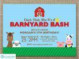Barnyard Party Invitation Wording Farm Invitation Barnyard Invitation Farm Animal