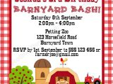 "Barnyard Party Invitation Wording Mother Duck Said ""lets Party "" Barnyard Birthday Party"