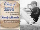 Baseball Graduation Invitations Baseball Graduation Invitation